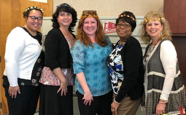 BC's Executive Office Staff Somaly, Tarina, Jennifer, June and Wendy