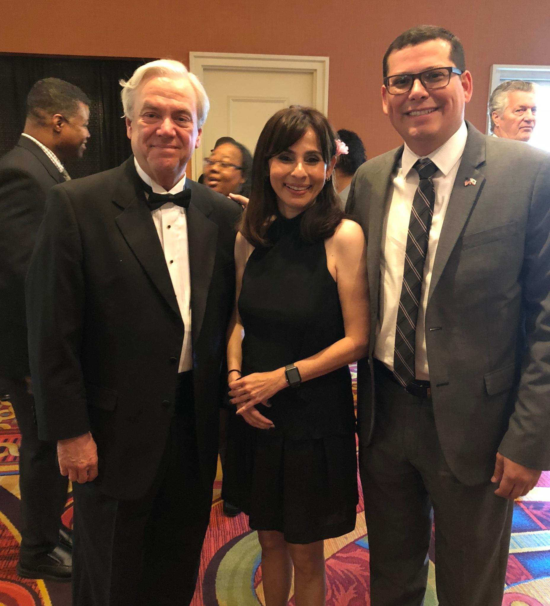 Jim Baldwin, Sonya Christian, Rudy Salas April 20 2018