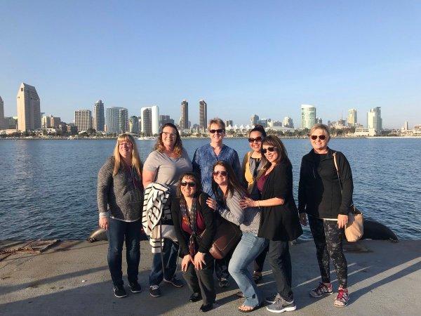 KCCD HR Team at Ellucian Conf in San Diego April 9 2018