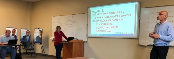 Liz Rozell and Manny Mourtzanos presenting at BC SW.jpg