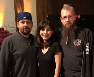 Manny Gomez, Sonya Christian, Ryan Mccallah