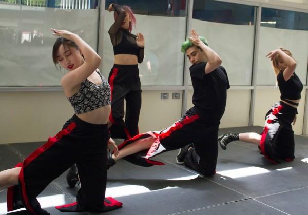 Korean Dancers at BC