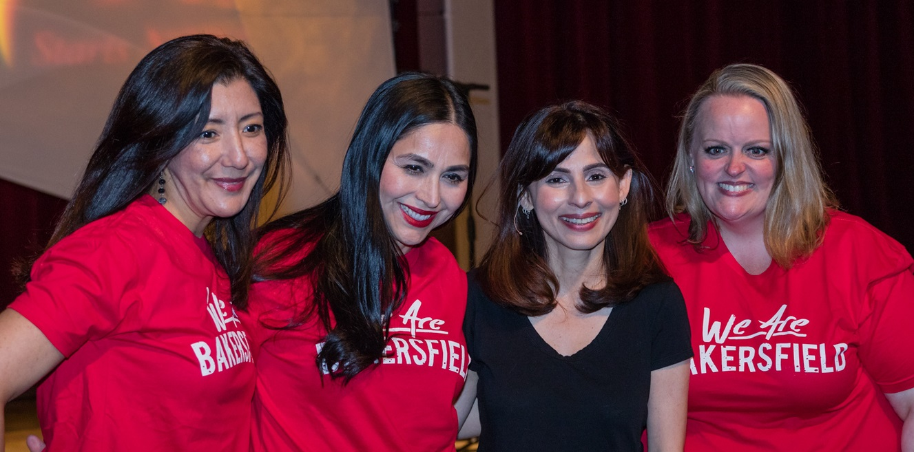 Sandra Rivera, Rosalina Rivera, Sonya Christian, April Gregerson