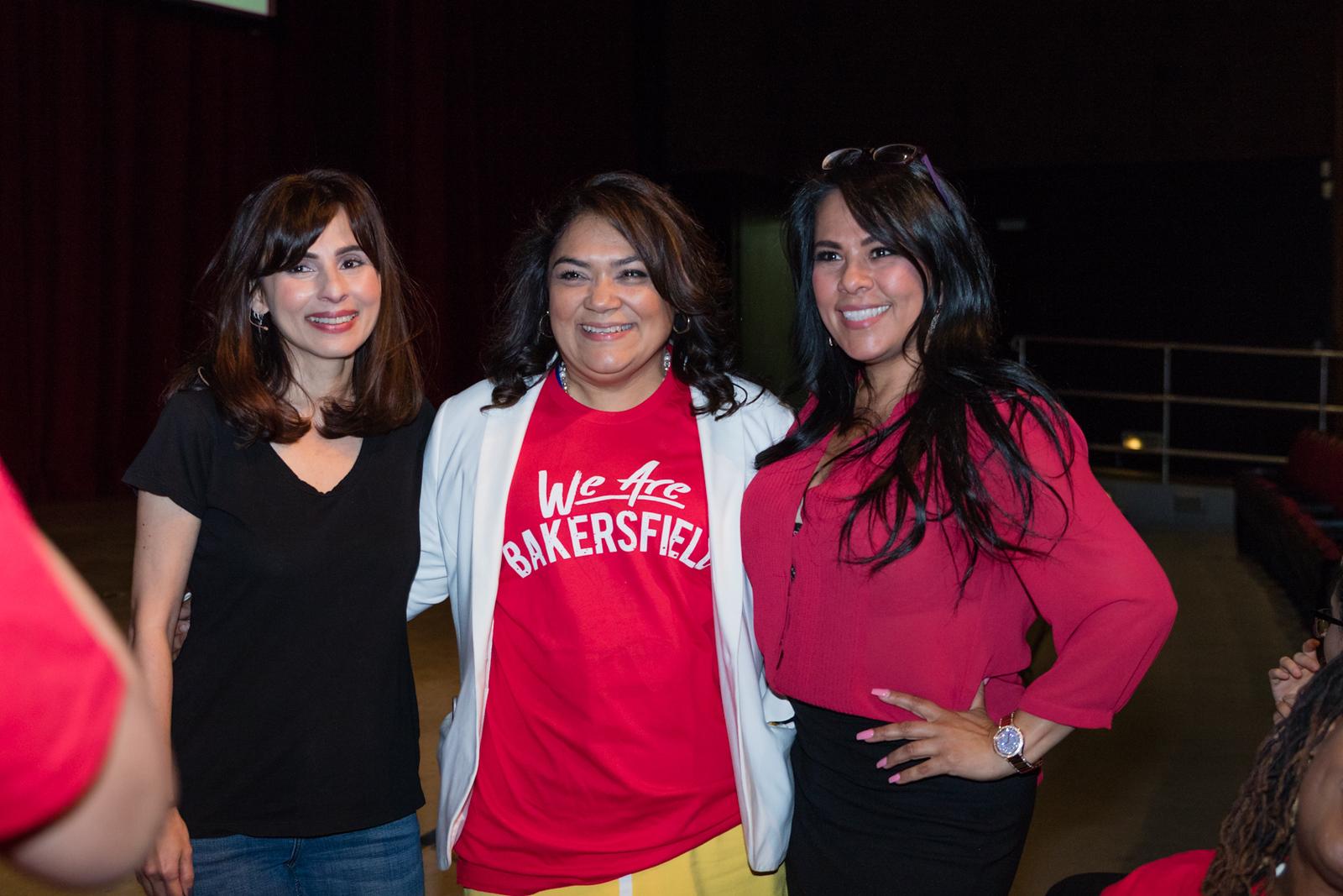 Sonya Christian, Norma Rojas Mora, Lisa Kent