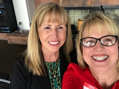Carla Musser and Liz Rozell May 5 2018
