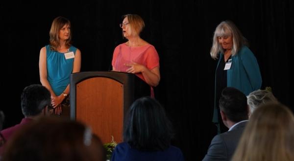 Nicole Bryant, Nika Hogan, Janet Fulks