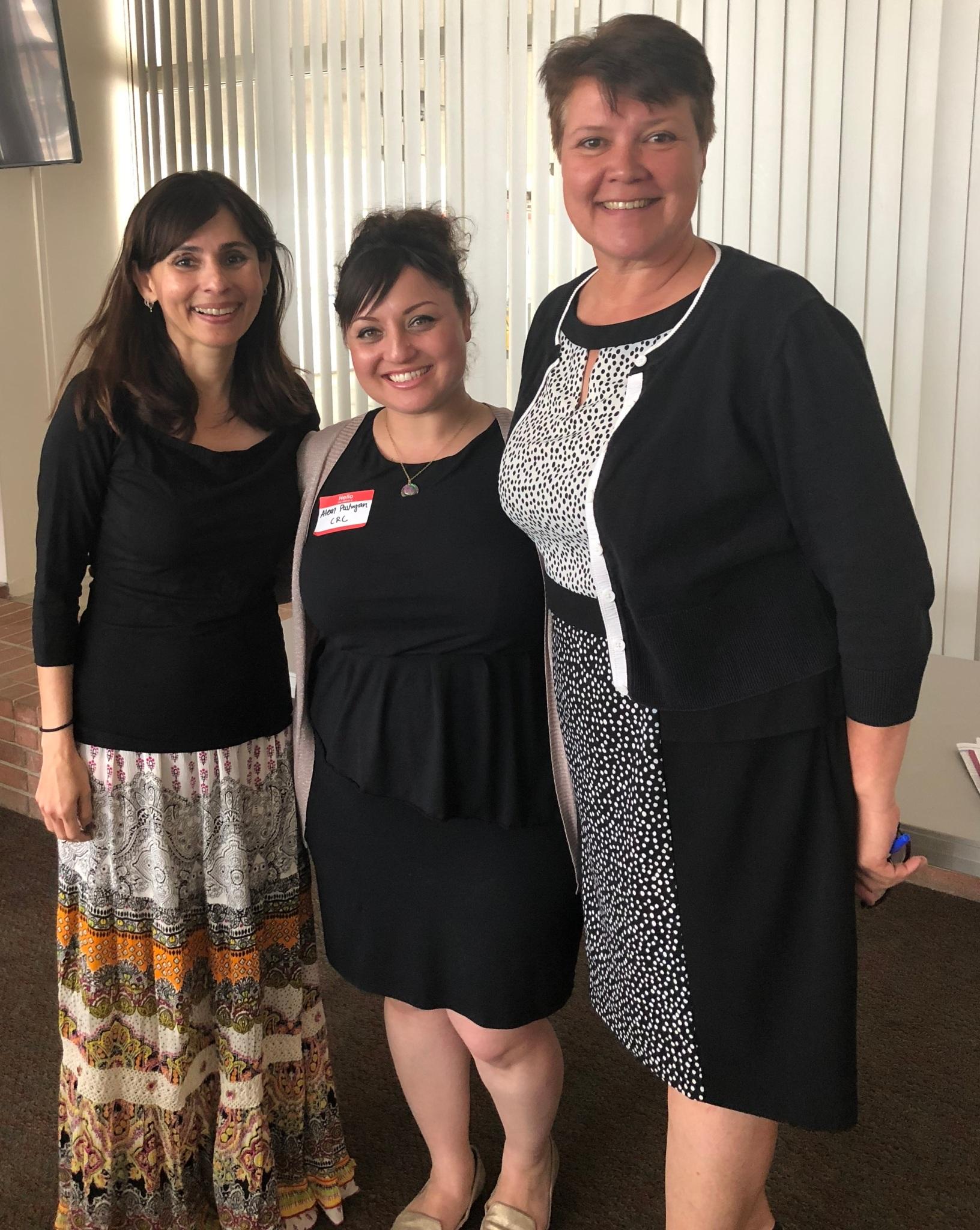 Lisa Baca and Sonya Christian Women's Empowerment May 4 2018
