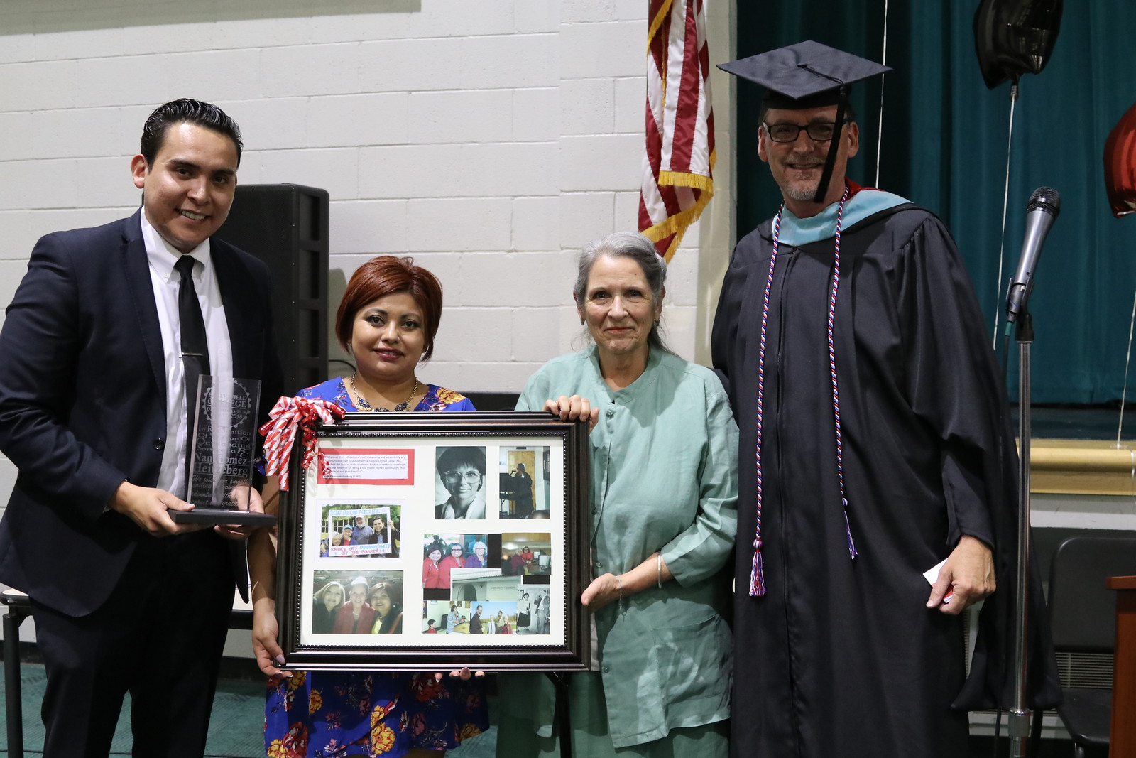 Recognizing Nan in Delano with Abel Guzman, Rich McCrow.jpg