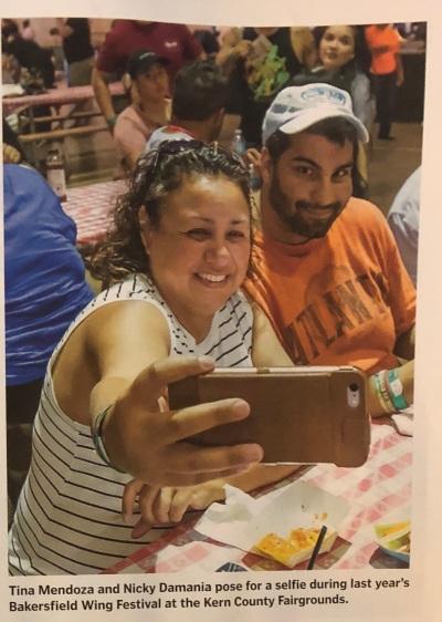 Tina Mendoza和Nicky Damania在Bakersfield生活杂志2018年5月18日