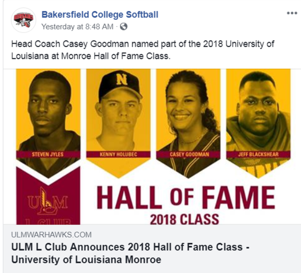 BC Softball FacebookPost 2018年6月教练凯西·古德曼名人堂.png