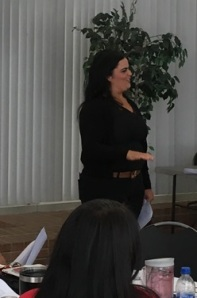 Chelsea Esquibias Admin Council retreat