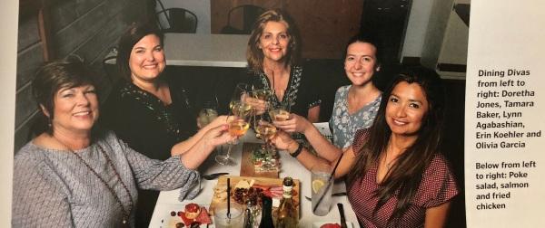 餐厅女主角塔玛拉·贝克,奥利维亚·格雷西亚2018年6月30日