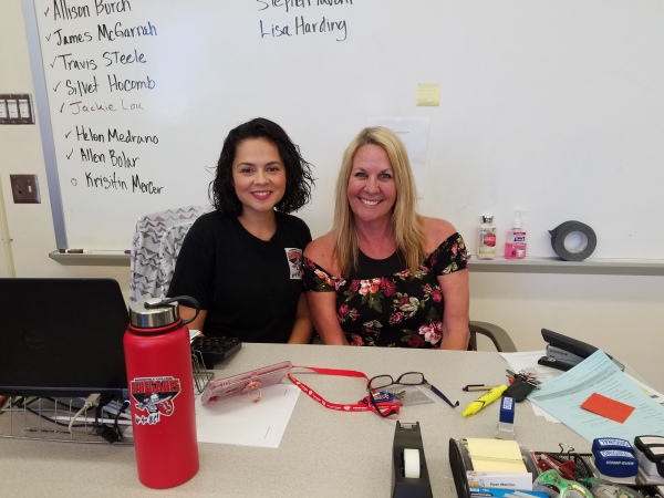 Isabel Castaneda and Kimberly Bligh at Bridge HQ June 23 2018