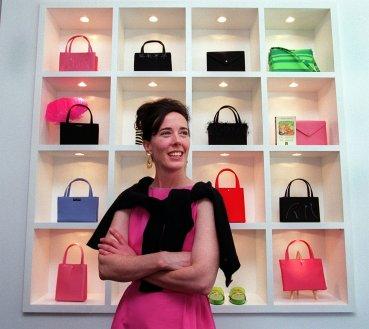 设计师Kate Spade在波士顿,照片从Time.com