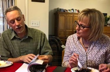 Nick Strobel and Liz Rozell Juner 2 2018