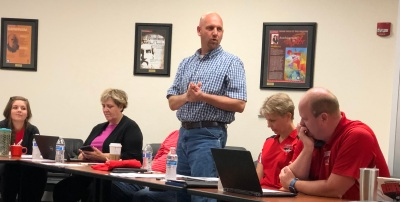 Todd Coston speaking Cabinet Retreat June 4 2018