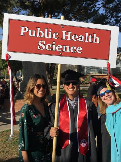 Sarah Baron和公共卫生研究生