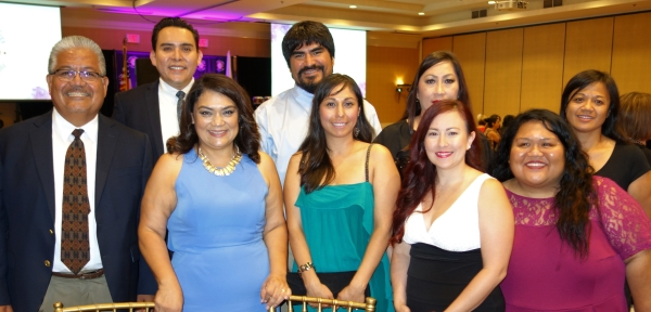 The Bakersfield College crew supporting Latina Leaders