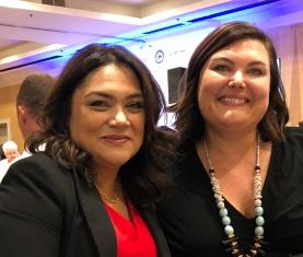 Norma Rojas Mora and Tamara Baker