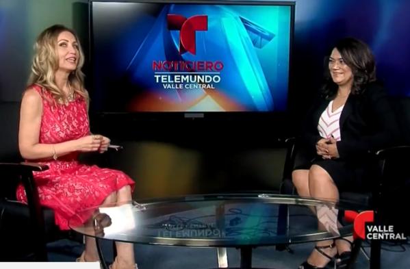Norma Rojas Mora on Telemundo 2018年6月.png