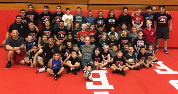 Wrestling Camp Group Photo