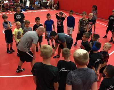 Wrestling Camp in action