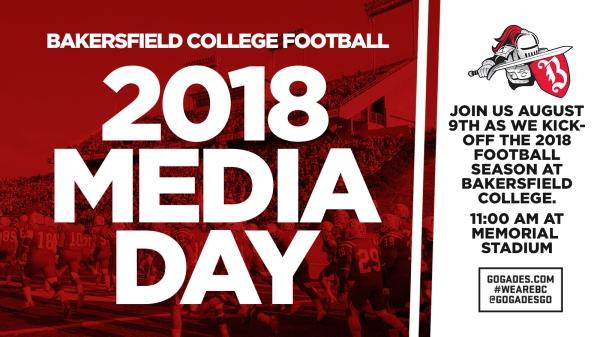 2018 Football Media Day