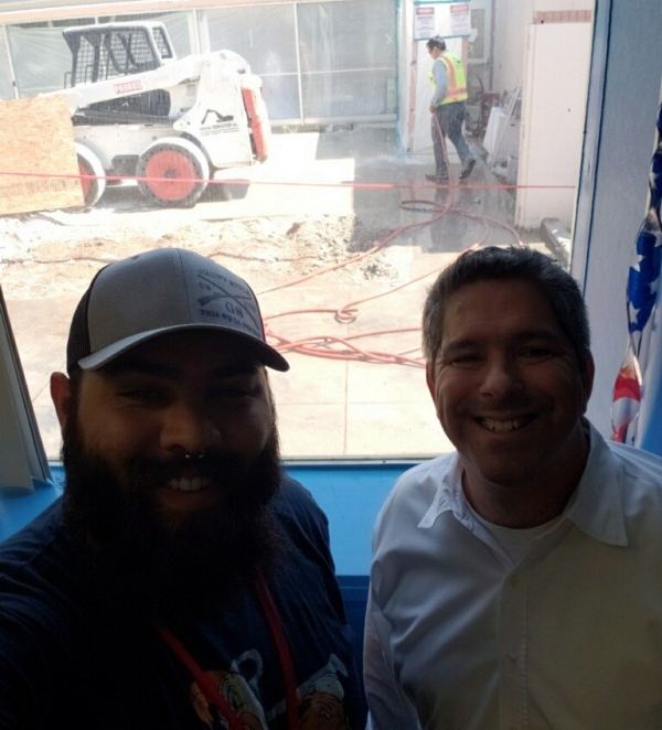 AJ Meza and Paul Beckworth VRC COnstruction