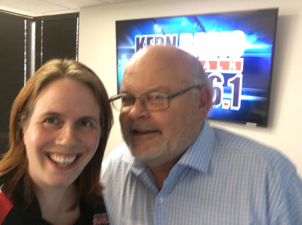 Anna Laven with Michael Turnipseed Aug 7 2018