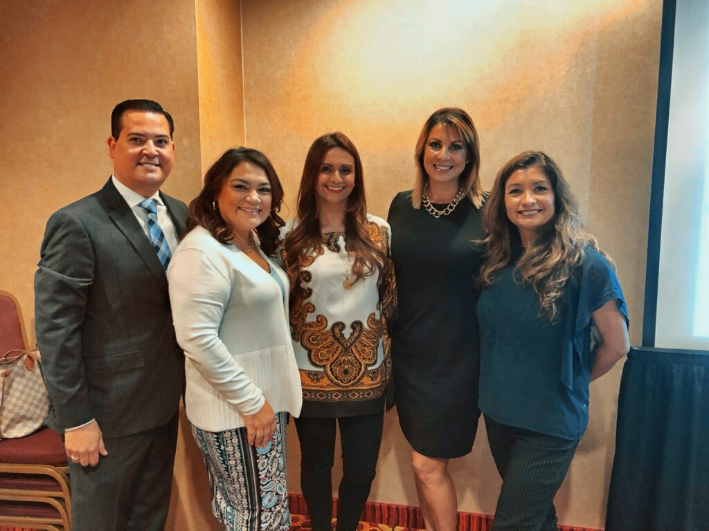 Jay Tamsi Norma Raji Brar of Countryside Market and Restaurants Gabriela Mello of Wells Fargo Olivia