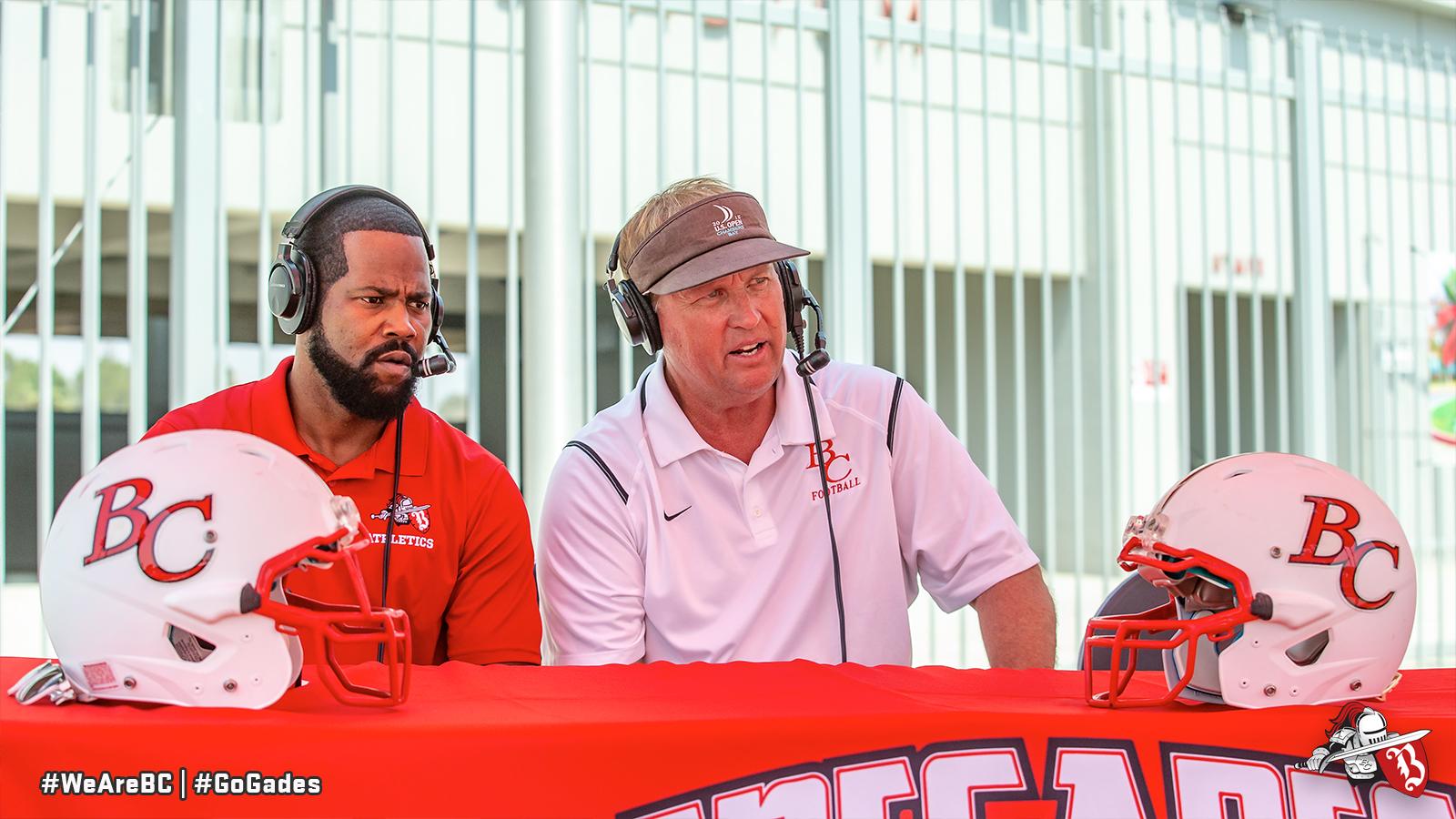Ken Calvin and Coach Chudy