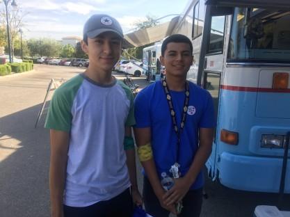 Kobe Villatoro and Noah Gonzalez