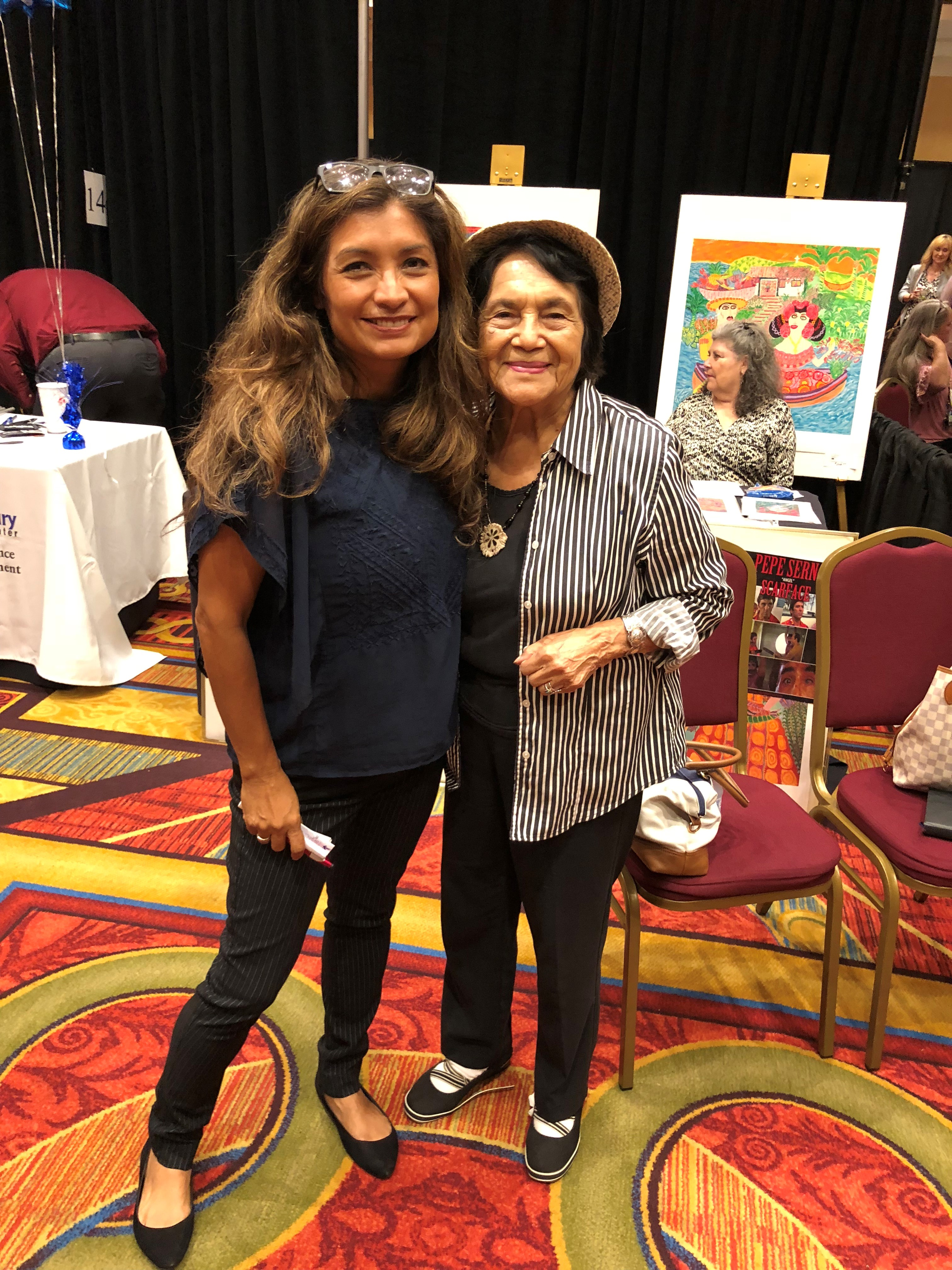 Olivia Garcia and Dolores Huerta