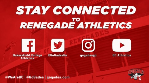 Stay connected with athletics on Facebook, Twitter, Instagram and YouTube