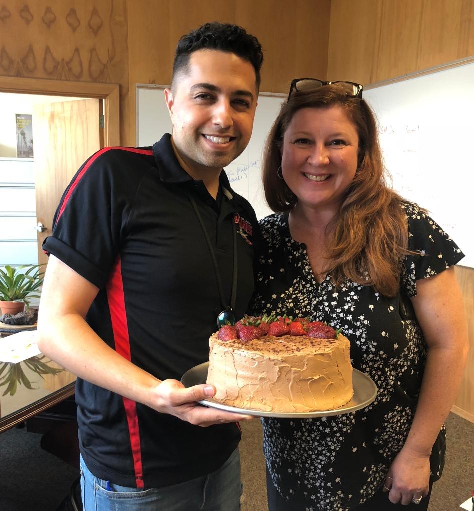 Wendys Cake, Chris Glaser and Jennifer Marden