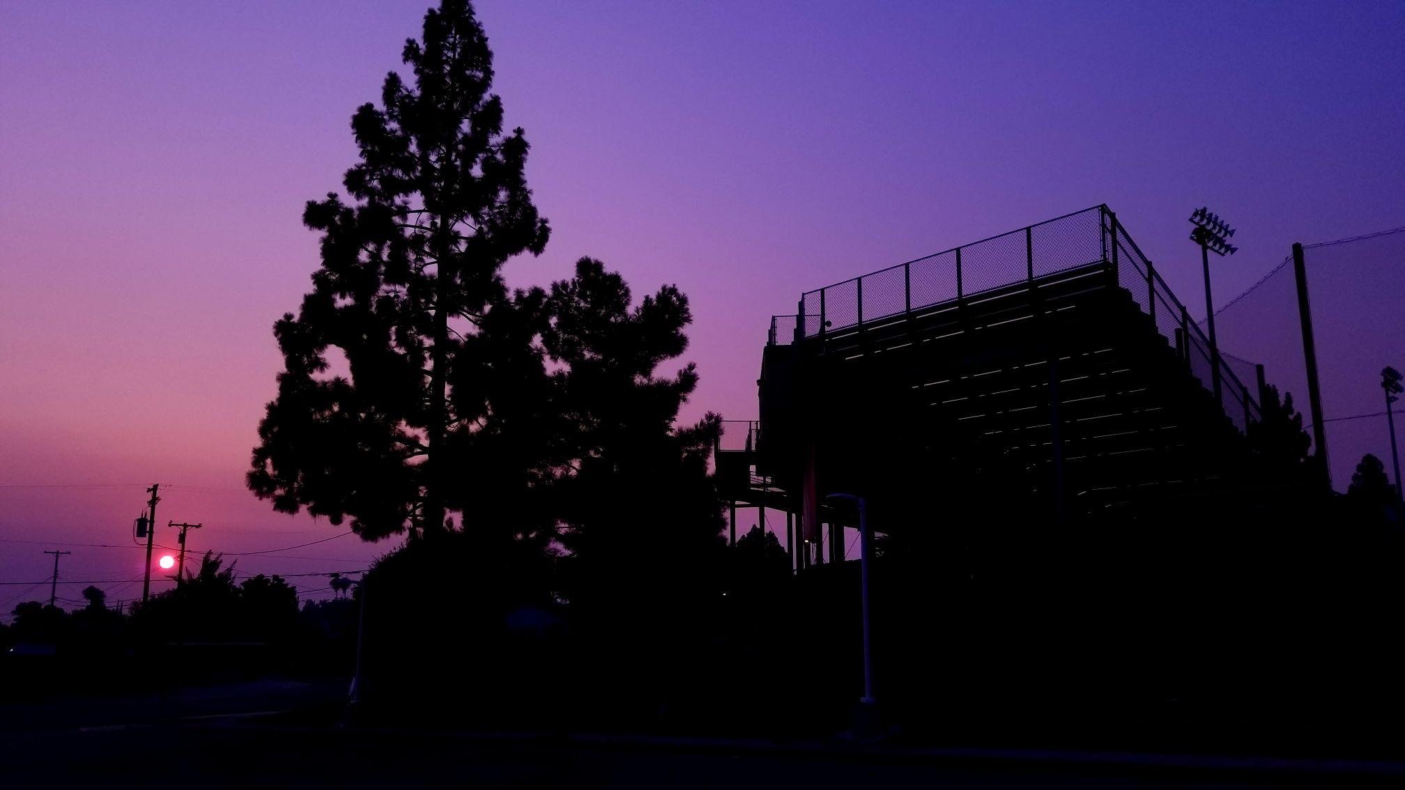 William Velasquez Sunset photo
