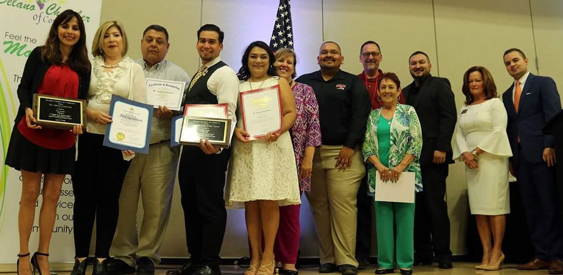 Bakersfield College getting the award -Taste of Delano group picture.jpg