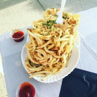 Fries at the Kern Co Fair