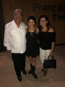 Corny Myra Venegas and writter Rosalinda Verde