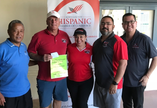 BC represented at the Hispanic Chamber Golf Tournament