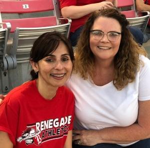 Sonya Christian and Tonya Davis
