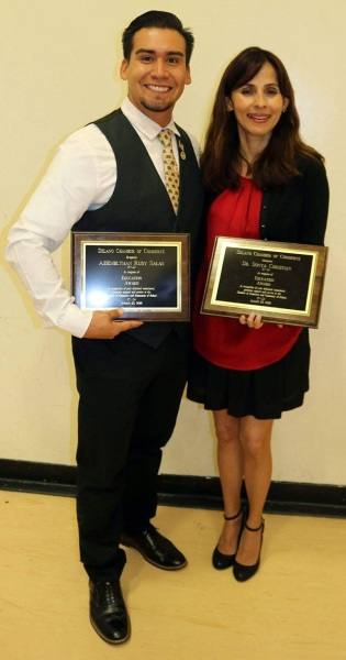 Sonya Christian and Rudy Salas' rep