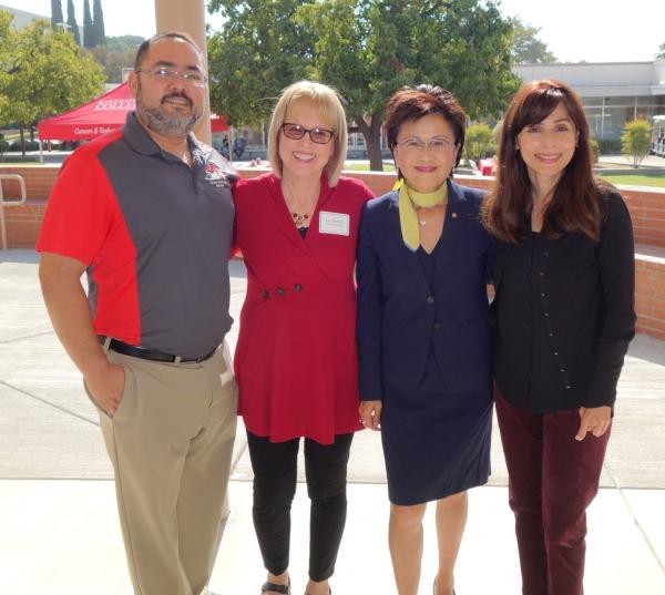 Tony Cordova, Liz Rozell, Karen Goh, Sonya Christian