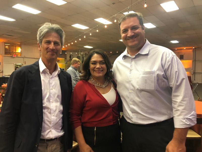David Krane, Norma Rojas Mora, and Mike G