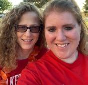 Deborah Rosenthal and Monika