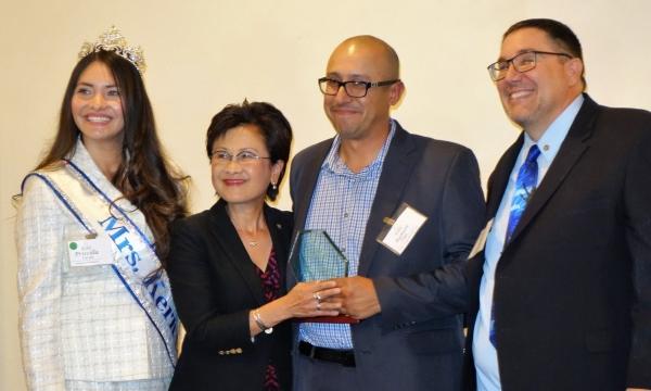 HIRE Employer of the Year award, Ramon Puga