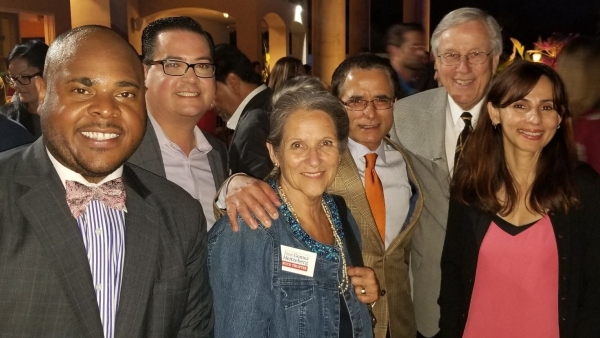 Michael Bowers, Jay Tamsi, Nan Gomez-Heitzeberg, Bill Thomas and Sonya Christian