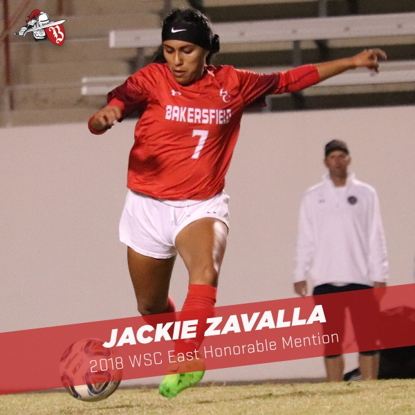 Jackie Zavalla running with the ball
