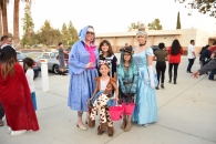 Attendees as Fairy God Mother, Cinderella and characters from Toy Story