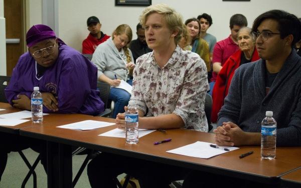 CSUB team speaking
